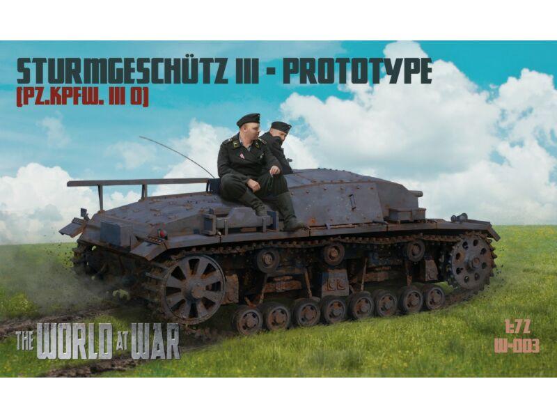 Waterloo World At War - German F. 2018/3 - StuG III. 0. (A003)
