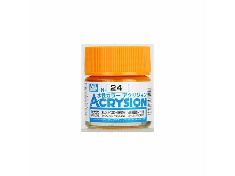 Mr.Hobby Acrysion N-024 Orange Yellow