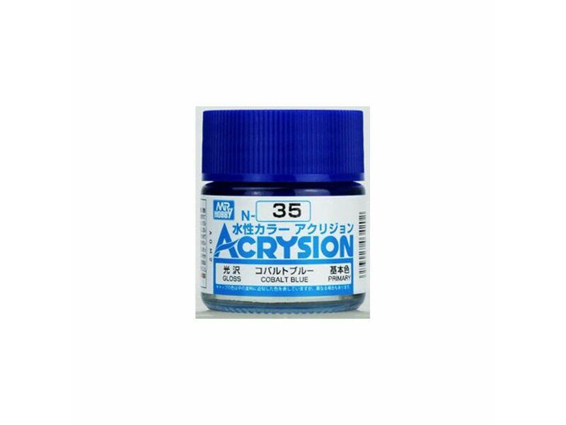 Mr.Hobby Acrysion N-035 Cobalt Blue
