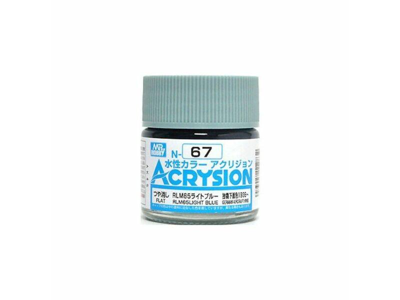 Mr.Hobby Acrysion N-067 RLM65 Light Blue