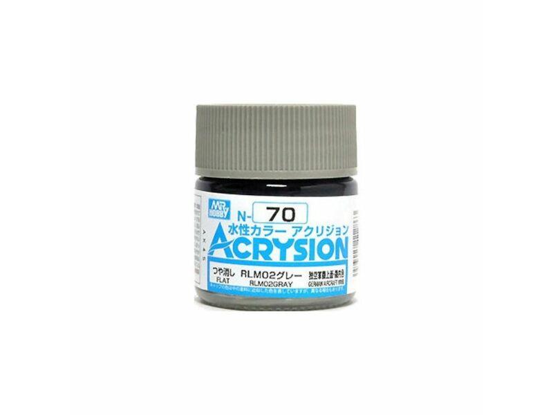 Mr.Hobby Acrysion N-070 RLM02 Gray