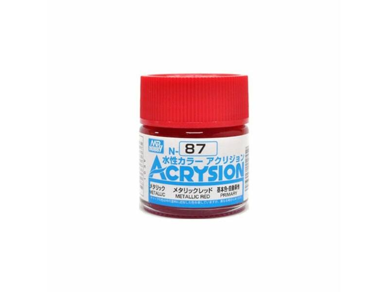 Mr.Hobby Acrysion N-087 Metallic Red