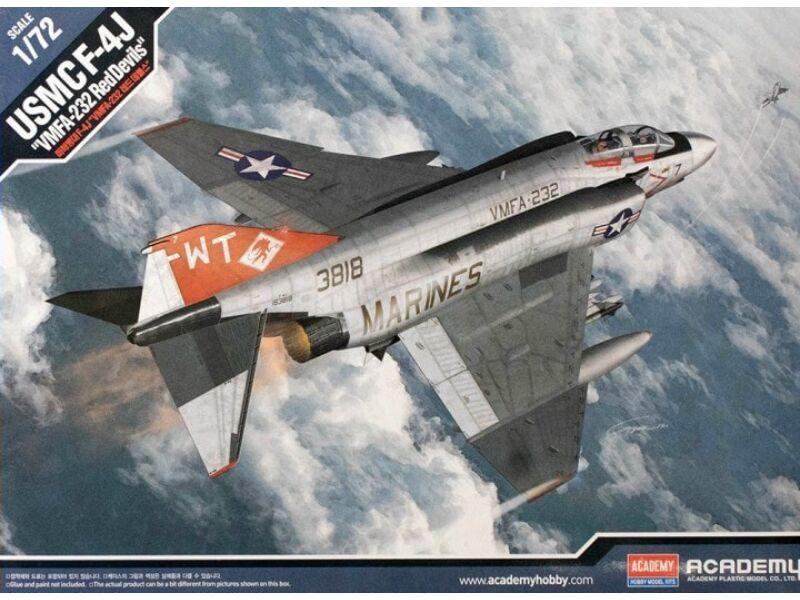 "Academy F-4J USMC ""VNFA-232 Red Devils"" 1:72 (12556)"