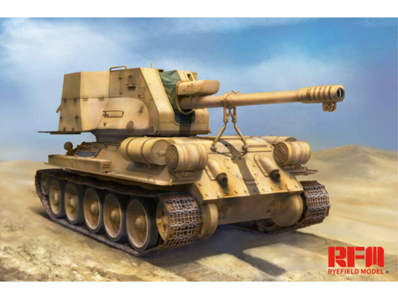 Rye Field Model T-34/122 Egyptian 1:35 (5013)