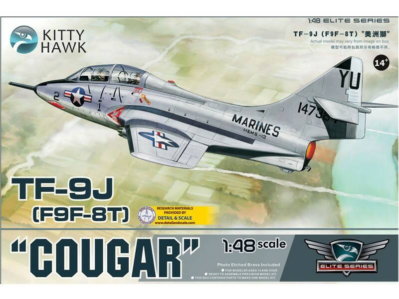"Kitty Hawk TF-9J ""Cougar"" 1:48 (KH80129)"