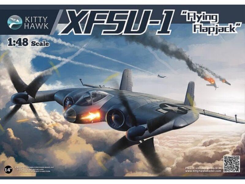Kitty Hawk XF5U-1 Flying Pancakes 1:48 (KH80135)
