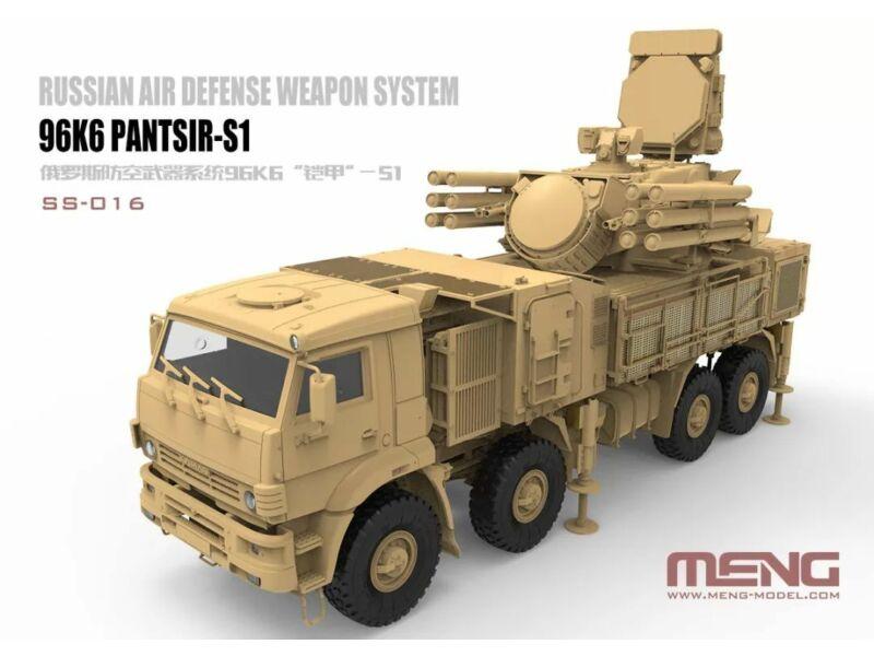 Meng Russian Air Defense Weapon System 96K6 Pantsir-S1 1:35 (SS-016)