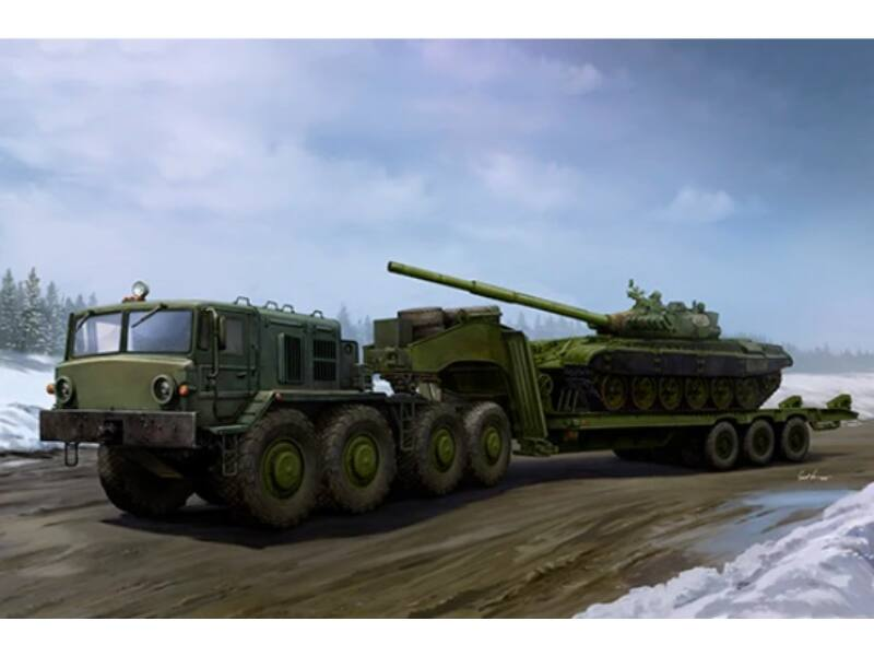 Trumpeter MAZ-537G Late type with ChMZAP-9990 semi-trailer 1:35 (1065)
