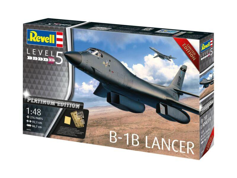 Revell B-1B Lancer PLATINUM Edition 1:48 (4963)