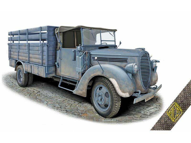 ACE G917T 3t German cargo truck (m.1939 soft cab) 1:72 (72575)