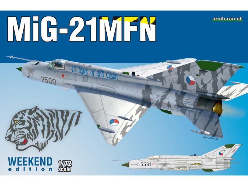 Eduard MiG-21MFN, Weekend Edition 1:72 (7452)