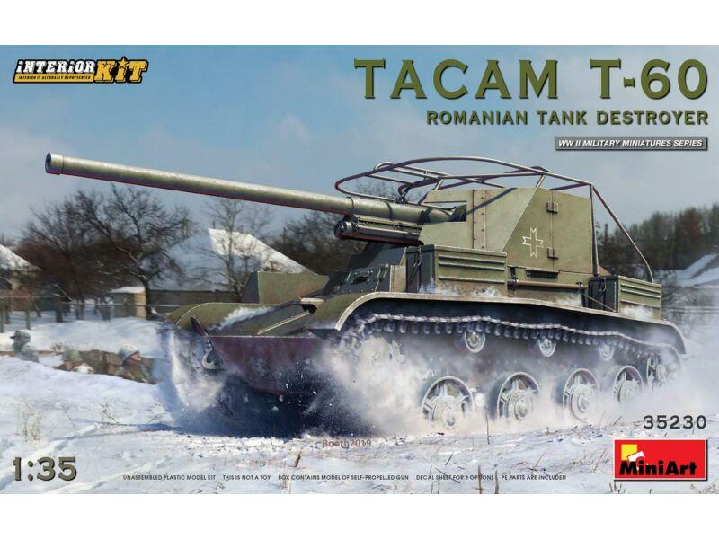MiniArt Tacam T-60 Romanian Tank Destroyer. Interior Kit 1:35 (35230)