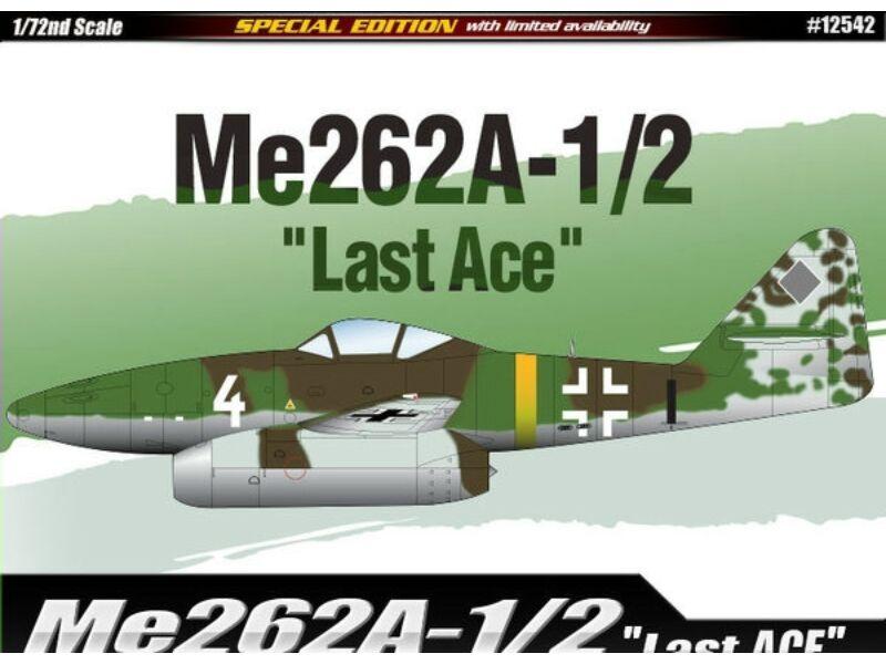 Academy Me262A-1/2 Last Ace 1:72 (12542)