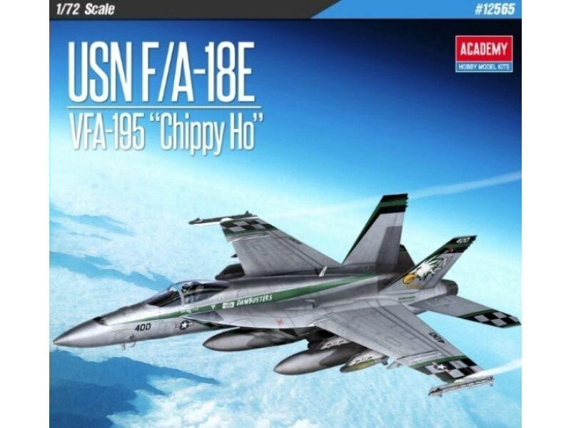 Academy USN F/A-18E VFA-195 Chippy Ho 1:72 (12565)
