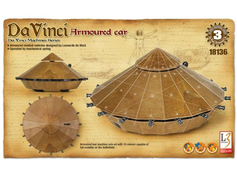 Academy Da Vinci Armoured Car (18136)