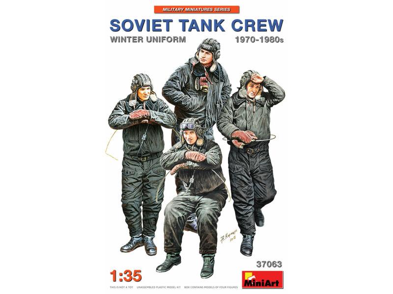 MiniArt Soviet Tank Crew 1970-1980s. Winter Uniform 1:35 (37063)