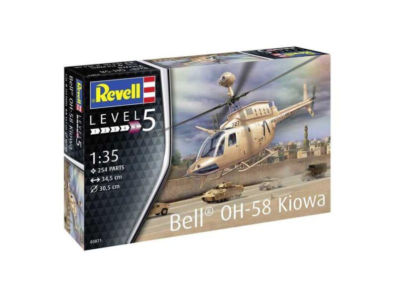 Revell OH-58 Kiowa 1:35 (3871)