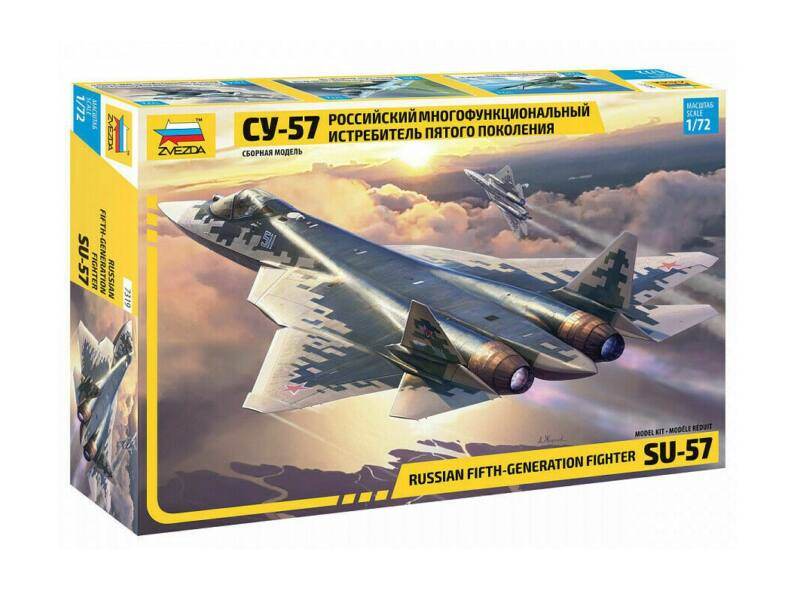 Zvezda Sukhoi SU-57 Russian Fighter 1:72 (7319)