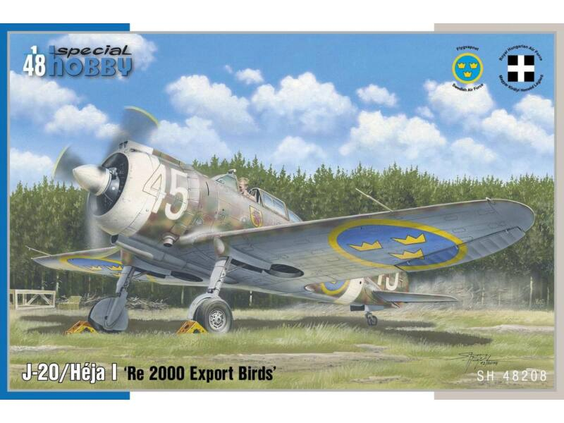 Special Hobby J-20/Héja I 'Re 2000 Export Birds' 1:48 (48208)