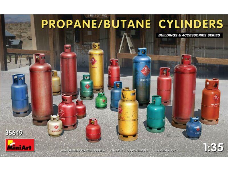 MiniArt Propane/Butane Cylinders 1:35 (35619)