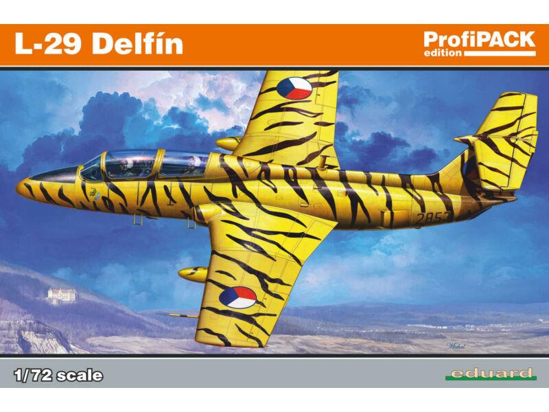 Eduard L-29 Delfin, Profipack 1:72 (7096)