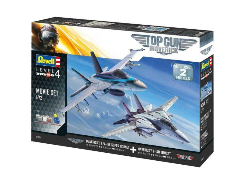 Revell Gift Set Top Gun Movie Set - 2 models 1:72 (5677)