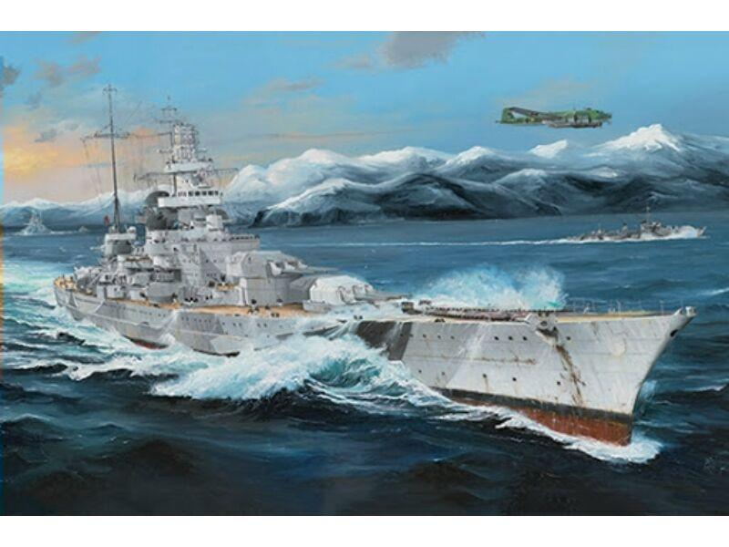Trumpeter German Scharnhorst Battleship 1:200 (3715)