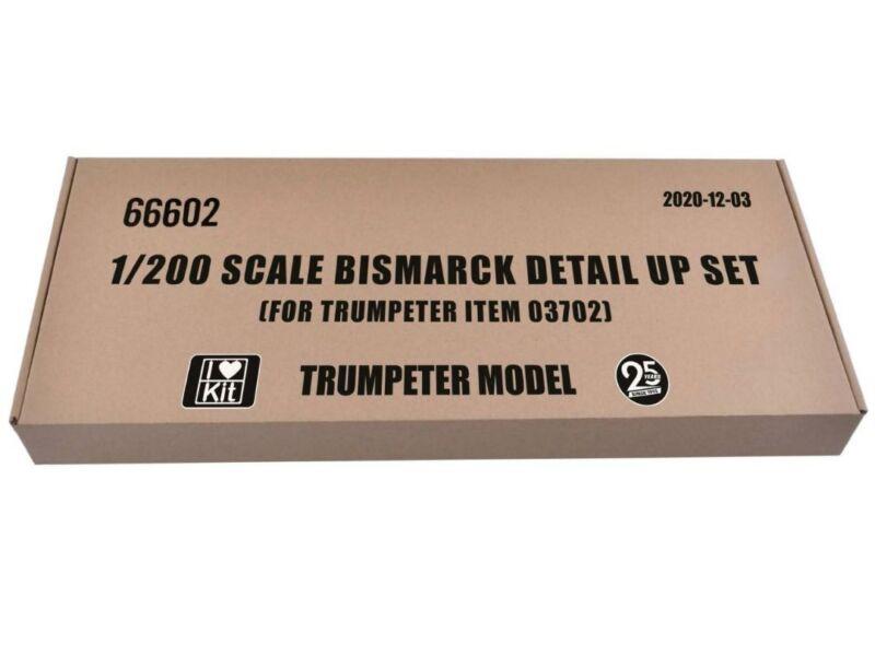 Trumpeter Bismarck detail up set (for Trumpeter item 03702) 1:200 (66602)