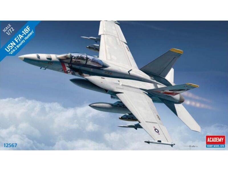 """Academy USN F/A-18F """"VFA-2 Bounty Hunters"""" 1:72 (12567)"""