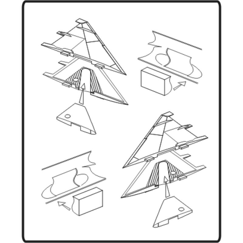 CMK MiG-21 PF/MF/bis - undercarriage set for ACA 1:48 (4077)