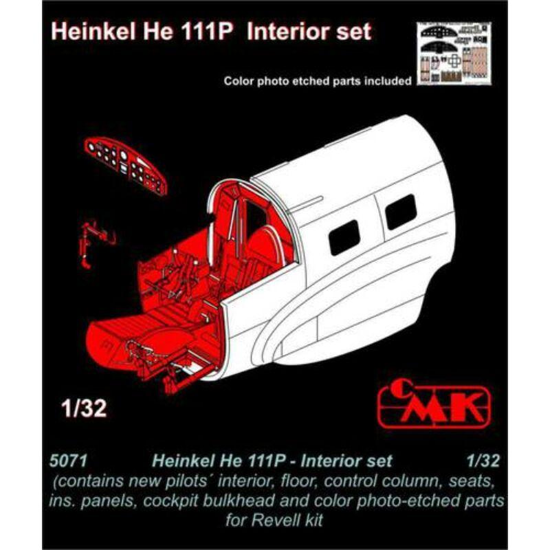 CMK Heinkel He 111P - Interior set for REV 1:32 (5071)