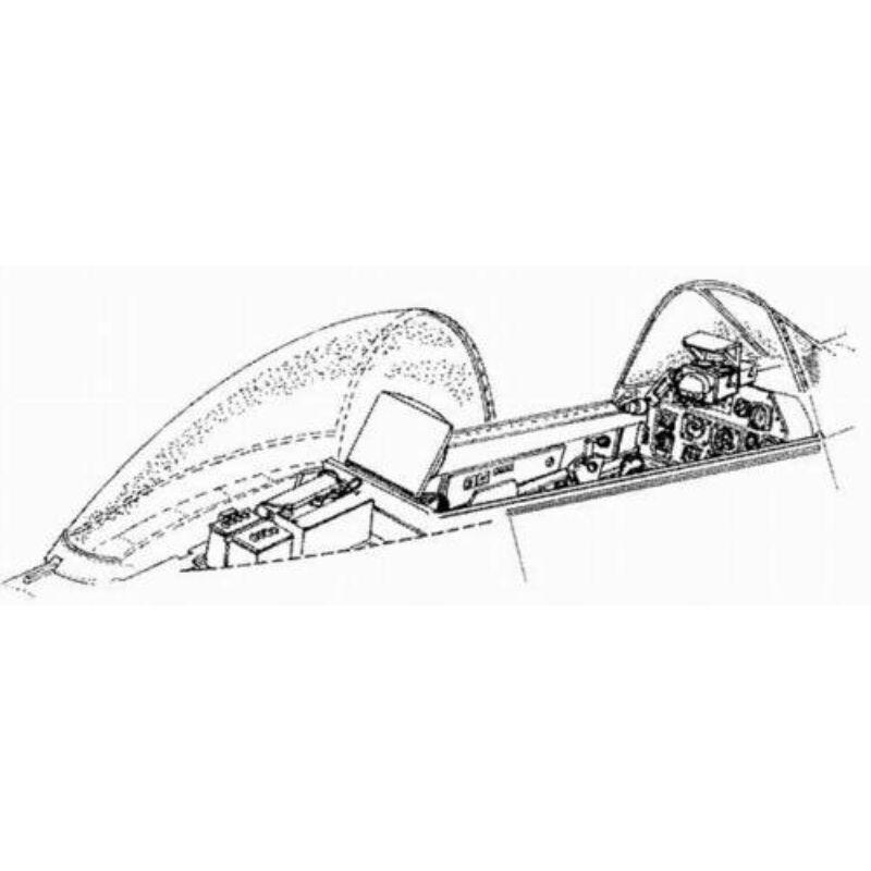 CMK P-51D - interior set for TAM 1:72 (7064)