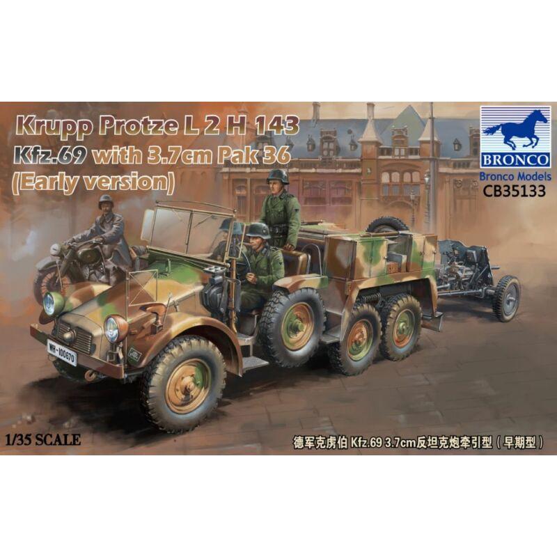 Bronco Models-CB35133 box image front 1