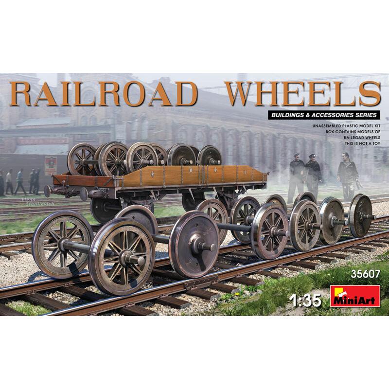 MiniArt Railroad Wheels 1:35 (35607)