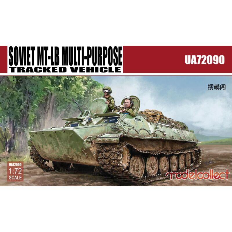 Modelcollect Soviet MT-LB MULTI-PURPOSE Tracked Vehicle 1:72 (UA72090)
