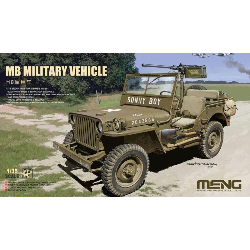 MENG MB Military Vehicle 1:35 (VS-011)