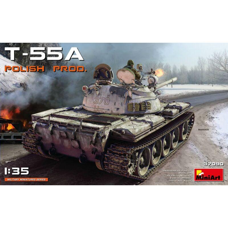 MiniArt T-55A Polish production 1:35 (37090)