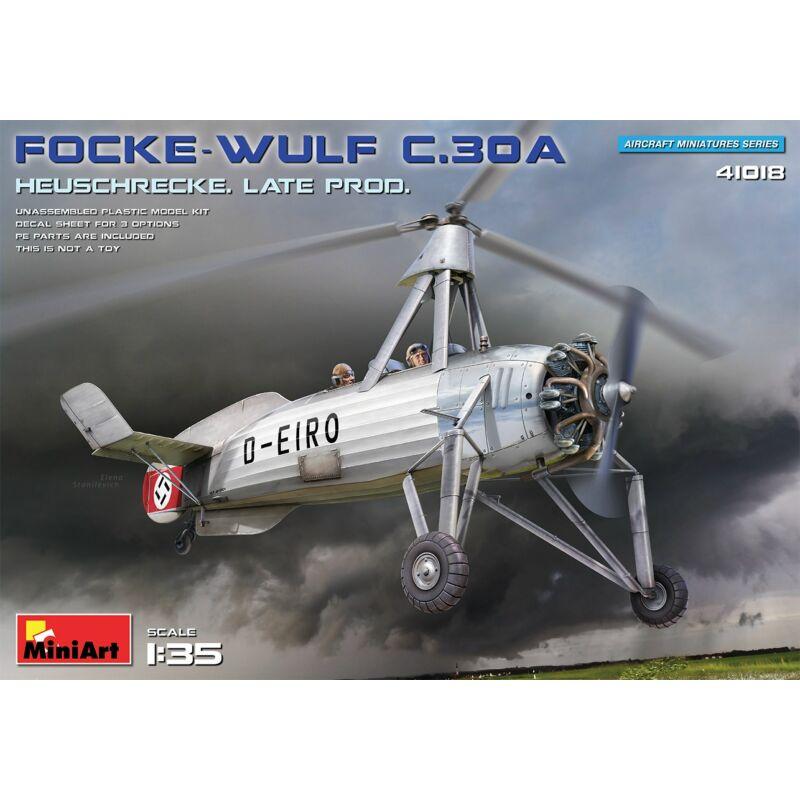 MiniArt Focke-Wulf FW C.30A Heuschrecke. Late Prod 1:35 (41018)
